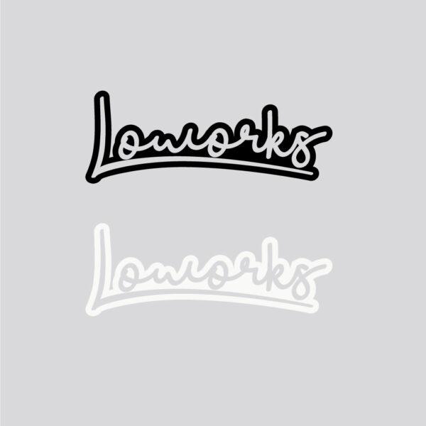 Loworks Sticker